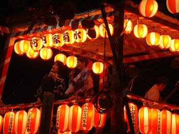 河内長野市の盆踊り大会(7・8月)