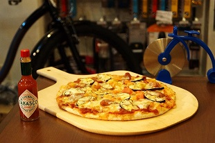 ACT WITH - BICYCLE and PIZZA