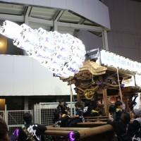 河内長野だんじり祭り 河内長野駅前パレード
