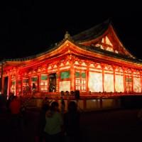 演出照明&光と音のショー 観心寺ライトアップ