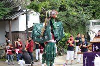 川上神社「日野獅子舞」
