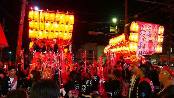 河内長野だんじり祭り 平成28年10月9日 河内長野駅前パレード