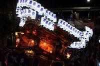 河内長野だんじり祭り「原」のぶん回しの画像と動画です。