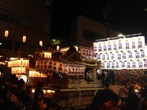 河内長野だんじり祭り(10月)