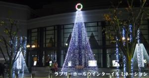 ラブリーホールクリスマスイルミネーション