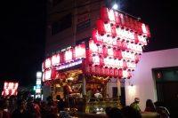 河内長野だんじり祭り「長野」のぶん回しの画像と動画です。