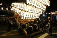 河内長野だんじり祭り「上原」のぶん回しの画像と動画です。