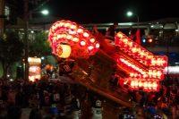 河内長野だんじり祭り「下西代」のぶん回しの画像と動画です。
