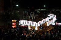 河内長野だんじり祭り「古野」のぶん回しの画像と動画です。